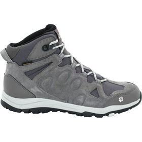 Jack Wolfskin Rocksand Texapore Mid Shoes Women grey haze